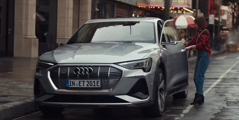 Just So You Know, the Audi in That Super Bowl Ad Is the Electric e-tron Sportback
