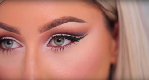 how to do cut crease eye makeup for hooded eyes  cut