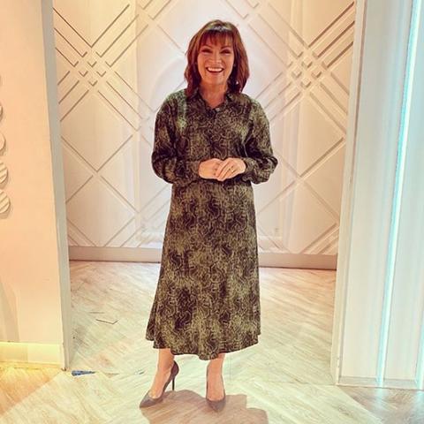 Lorraine Kelly mango dress