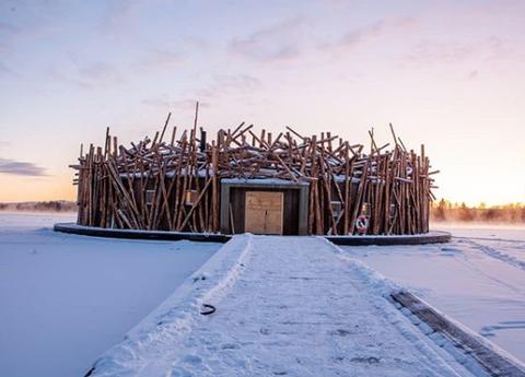 Winter, Snow, Freezing, Architecture, Photography, Ice, Wood, Landscape, House, Horizon,