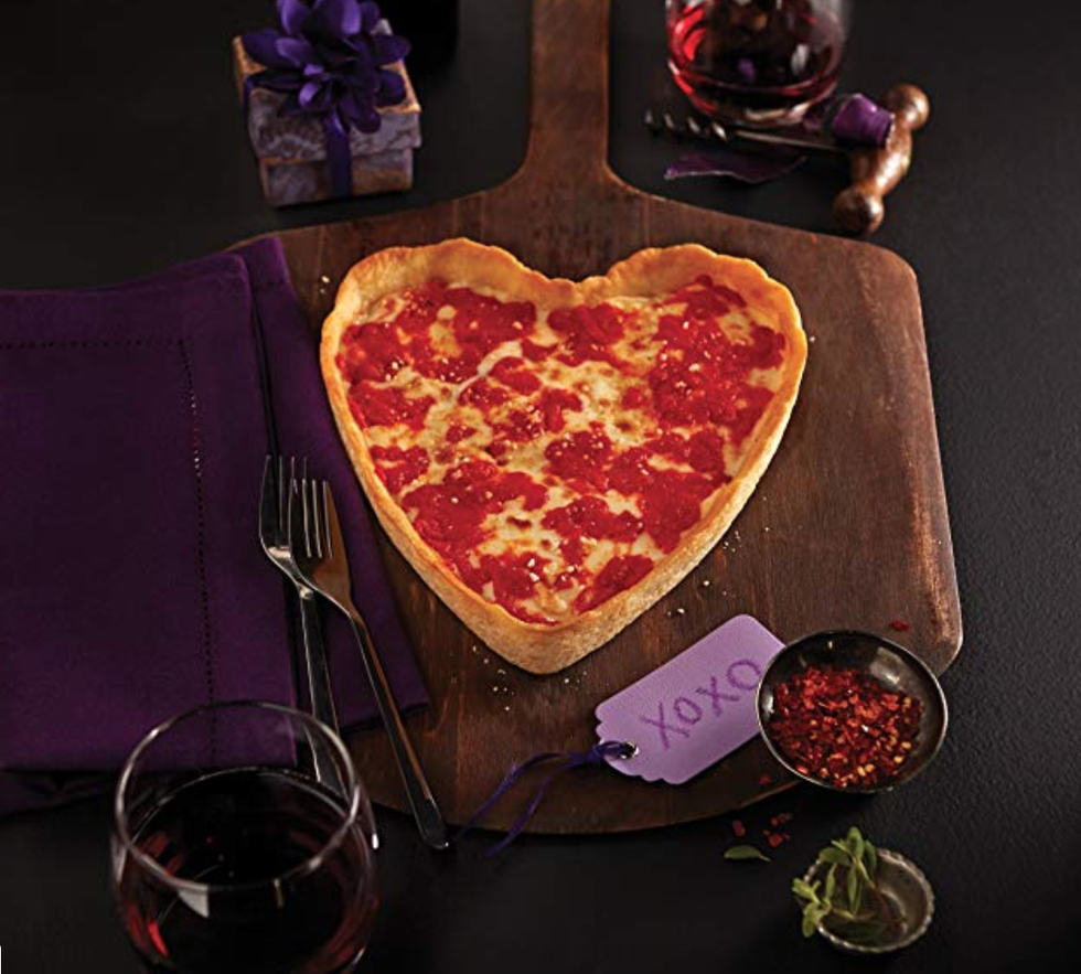 Where to Buy Heart Shaped Pizza for Valentine's Day 2020