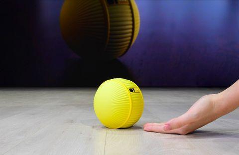 Ball, Yellow, Sports equipment, Ball, Floor, Ball game, Sports, Flooring, Team sport,