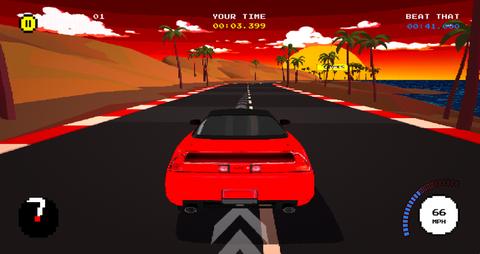 ゲーム「BEAT THAT」の画面