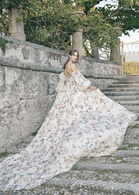 Dress, Clothing, Wedding dress, Gown, Bridal clothing, Shoulder, Fashion, Bride, Bridal party dress, Bridal accessory,