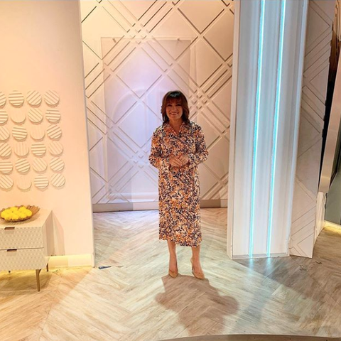Lorraine Kelly floral dress Very