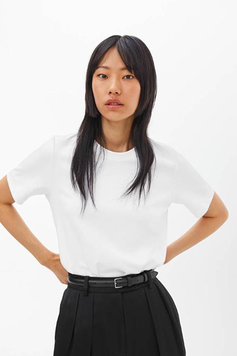 best white t shirt women
