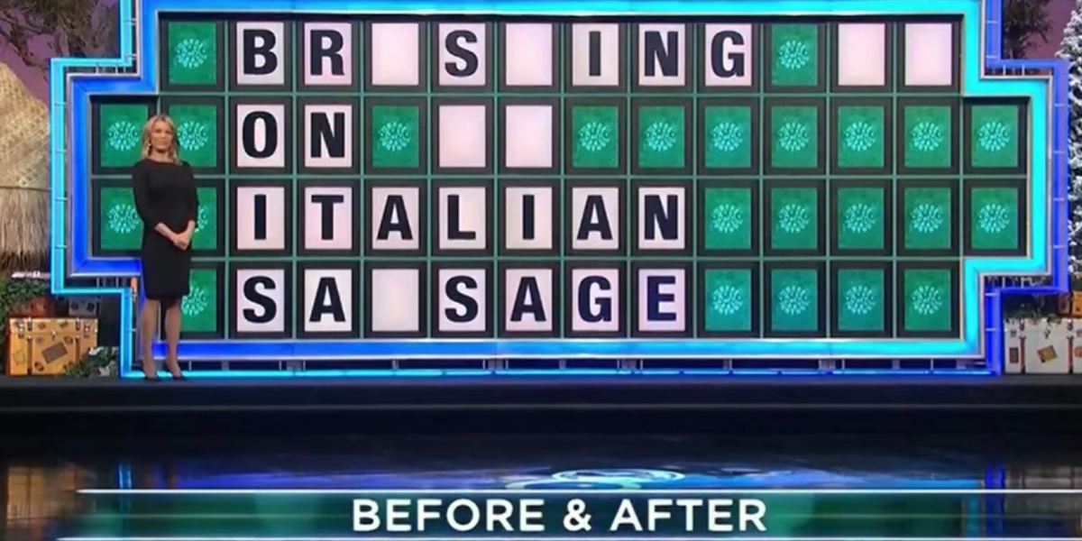 "This Risqué ""Wheel of Fortune"" Puzzle Has the Internet Raising Eyebrows"