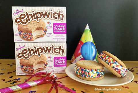 Sensational Birthday Cake Flavored Chipwiches Are Here Funny Birthday Cards Online Fluifree Goldxyz