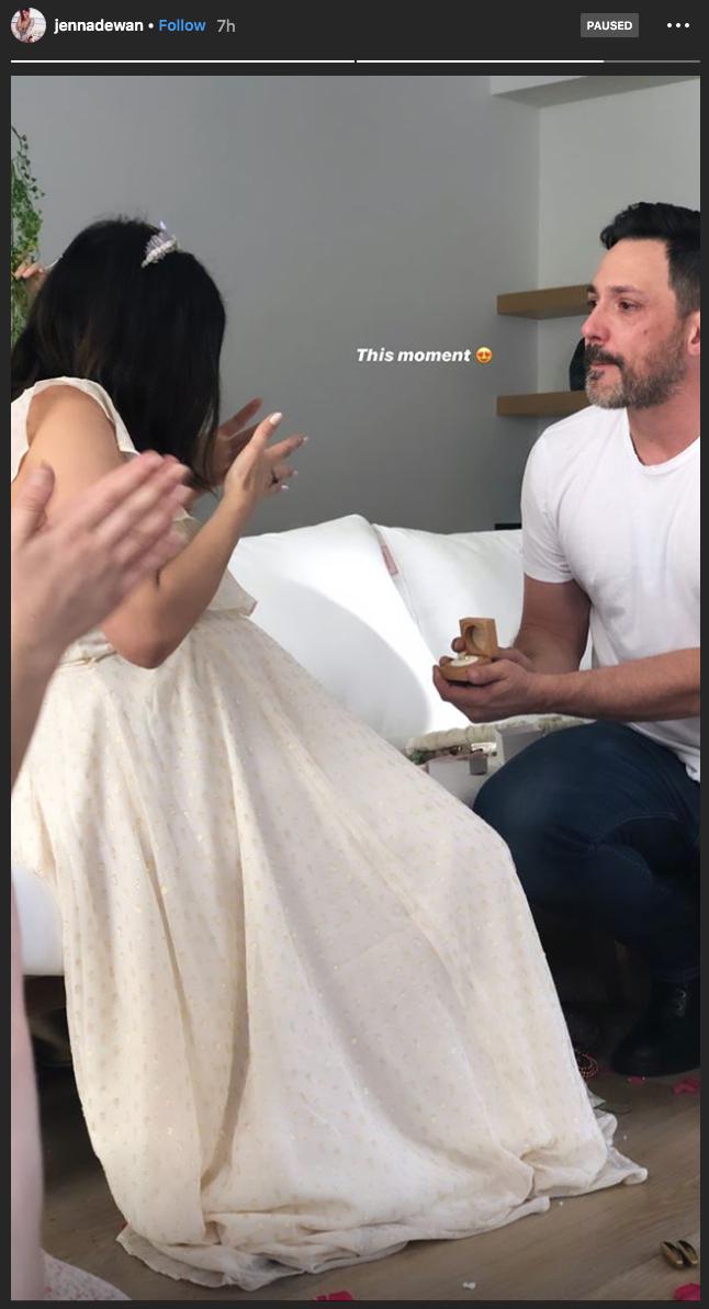 Jenna Dewan engagement