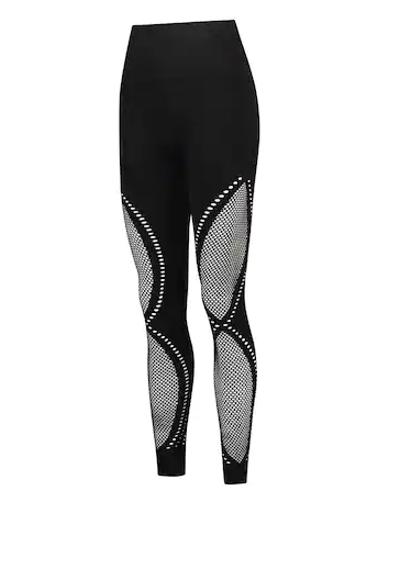 Clothing, Tights, Black, Leggings, Trousers, Leg, Fashion accessory, Sportswear, Waist, Black-and-white,