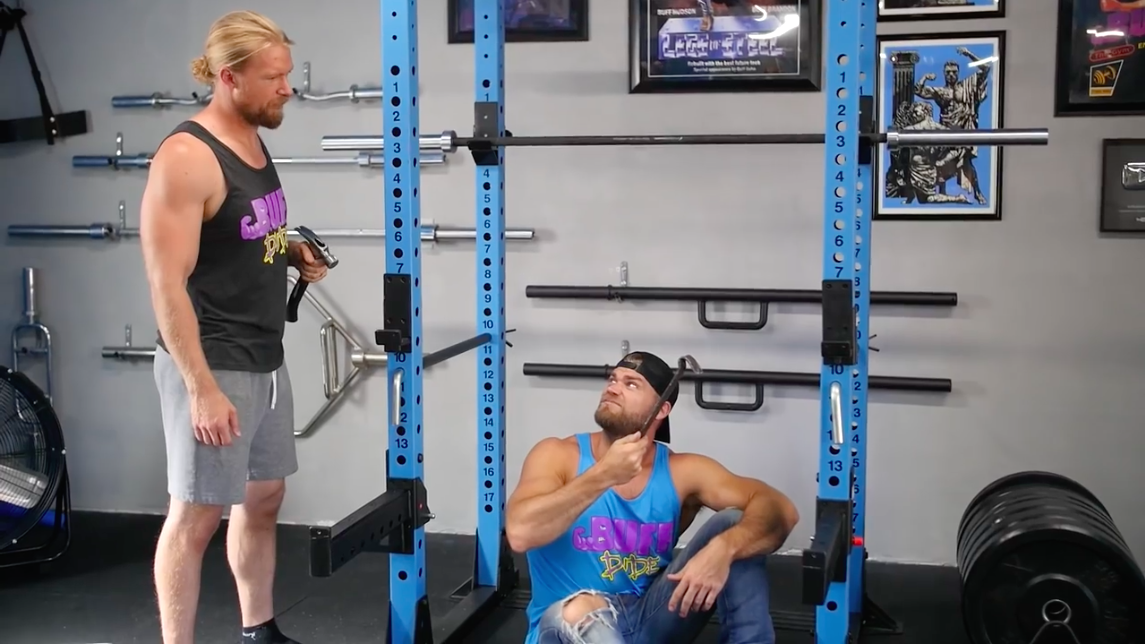 Watch These Bodybuilders Construct Their Dream Home Gym From Scratch