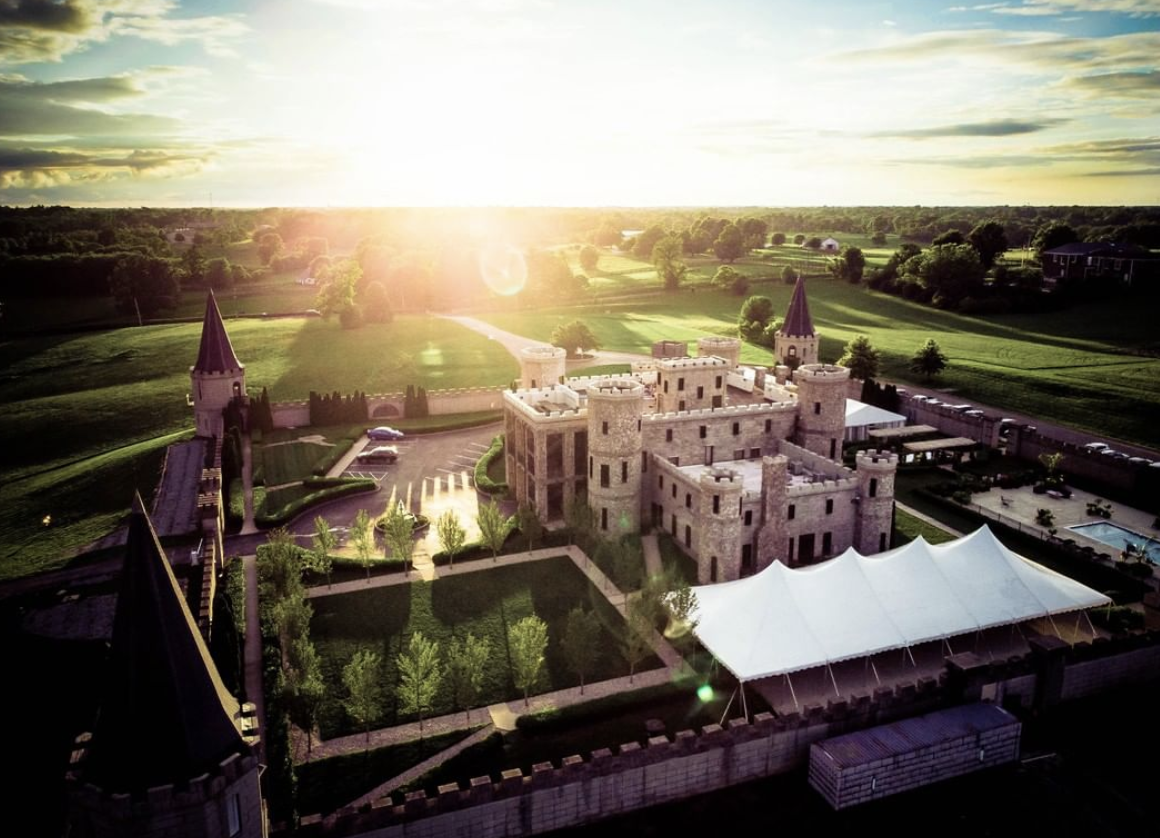 The Kentucky Castle Is Complete With 13 Hotel Rooms, a Spa, a Restaurant, and Farm