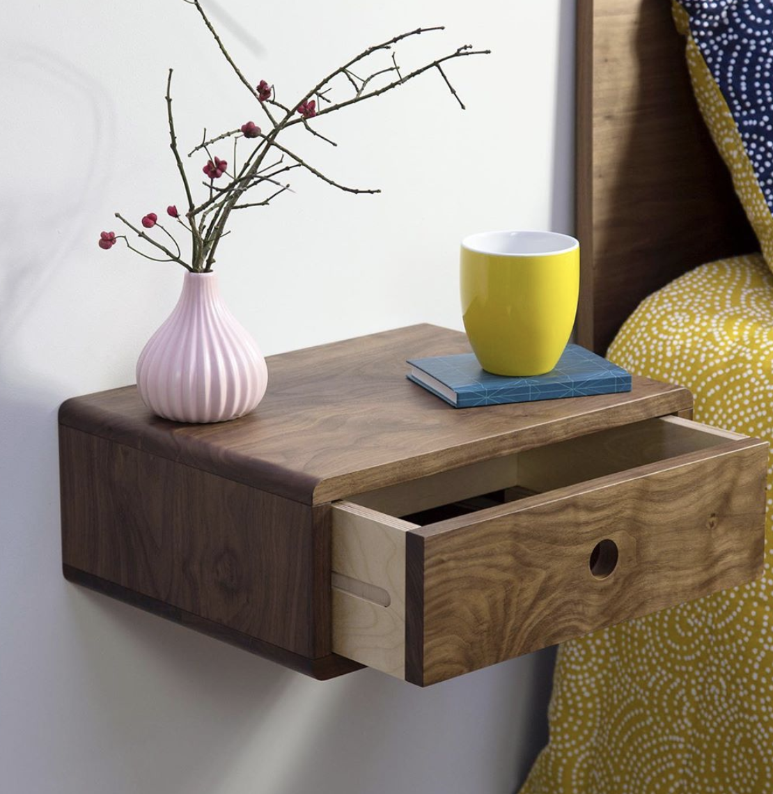 Every Minimalist Needs A Floating Nightstand These Bedside Tables Have No Legs