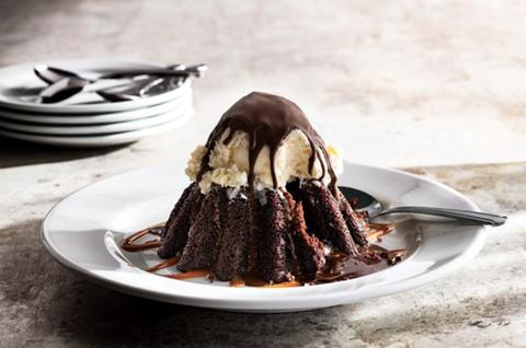 Dish, Food, Cuisine, Ingredient, Dessert, Chocolate cake, Chocolate syrup, Chocolate, Frozen dessert, Ganache,