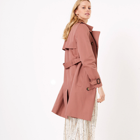 perfect transitional trench coat from M&S