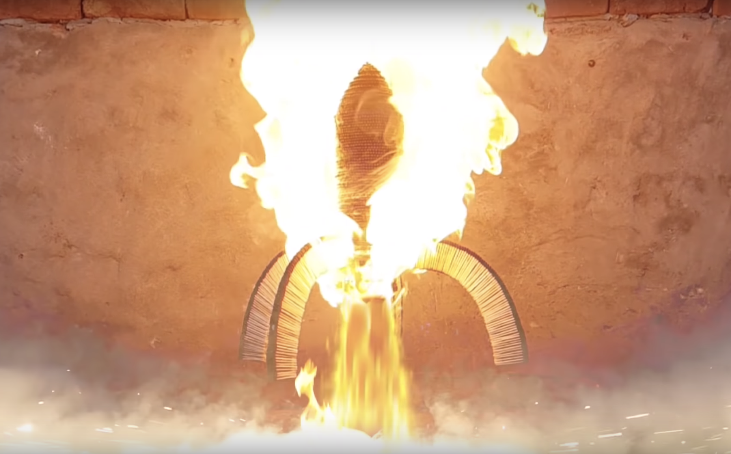 Watch This Guy Build a Rocket with 1 Million Matches—and Actually Launch It