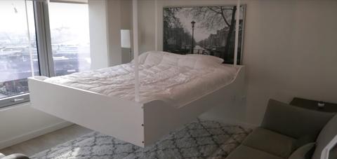Bedroom, Bed, Furniture, Mattress, Room, Bed frame, Property, Bedding, Floor, Box-spring,