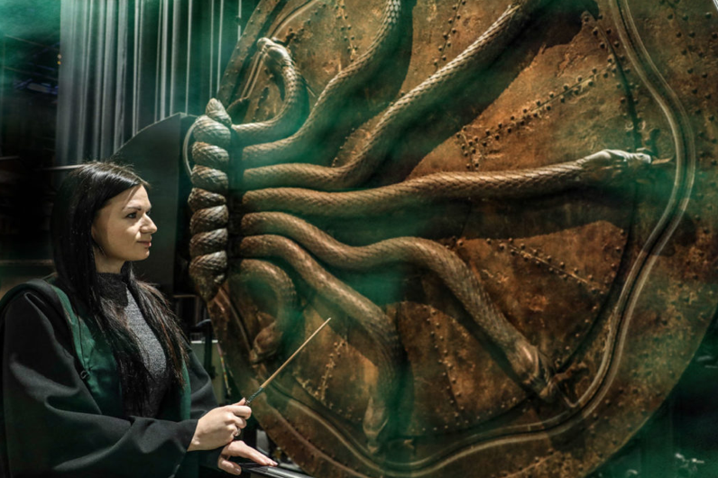 """""""Harry Potter"""" Fans Can Step Inside the Slytherin Common Room This Spring"""