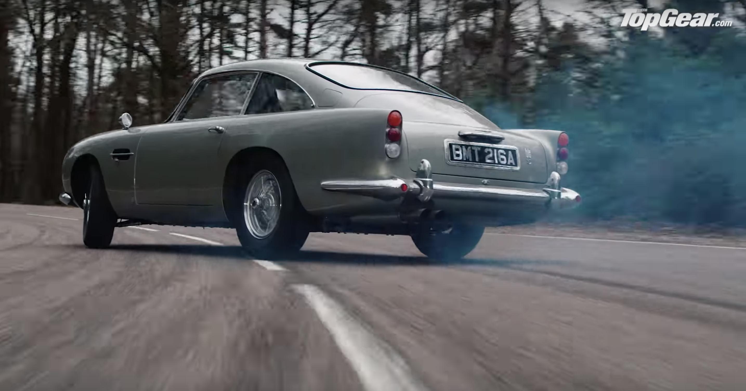 The Best James Bond Car Is This Aston Martin Db5 Drift Machine