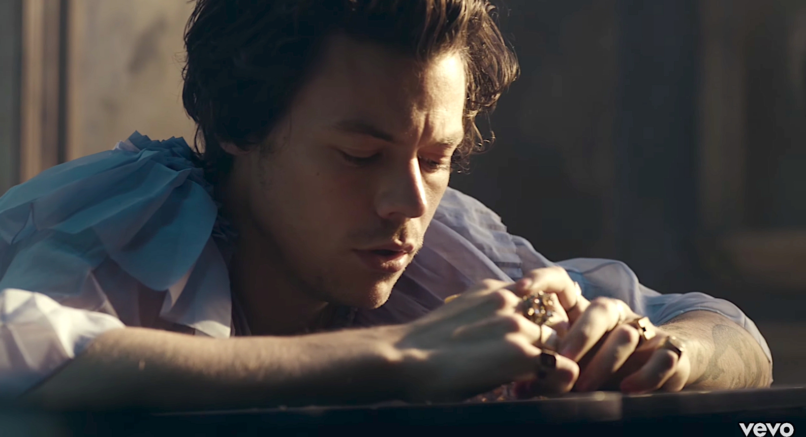 Please, Someone, Help My Sweet Boy Harry Styles in the New 'Falling' Video