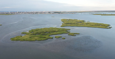 No Man's Island in New Jersey