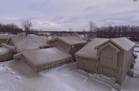 Snow, Winter, Freezing, Ice, House, Architecture, Frost,