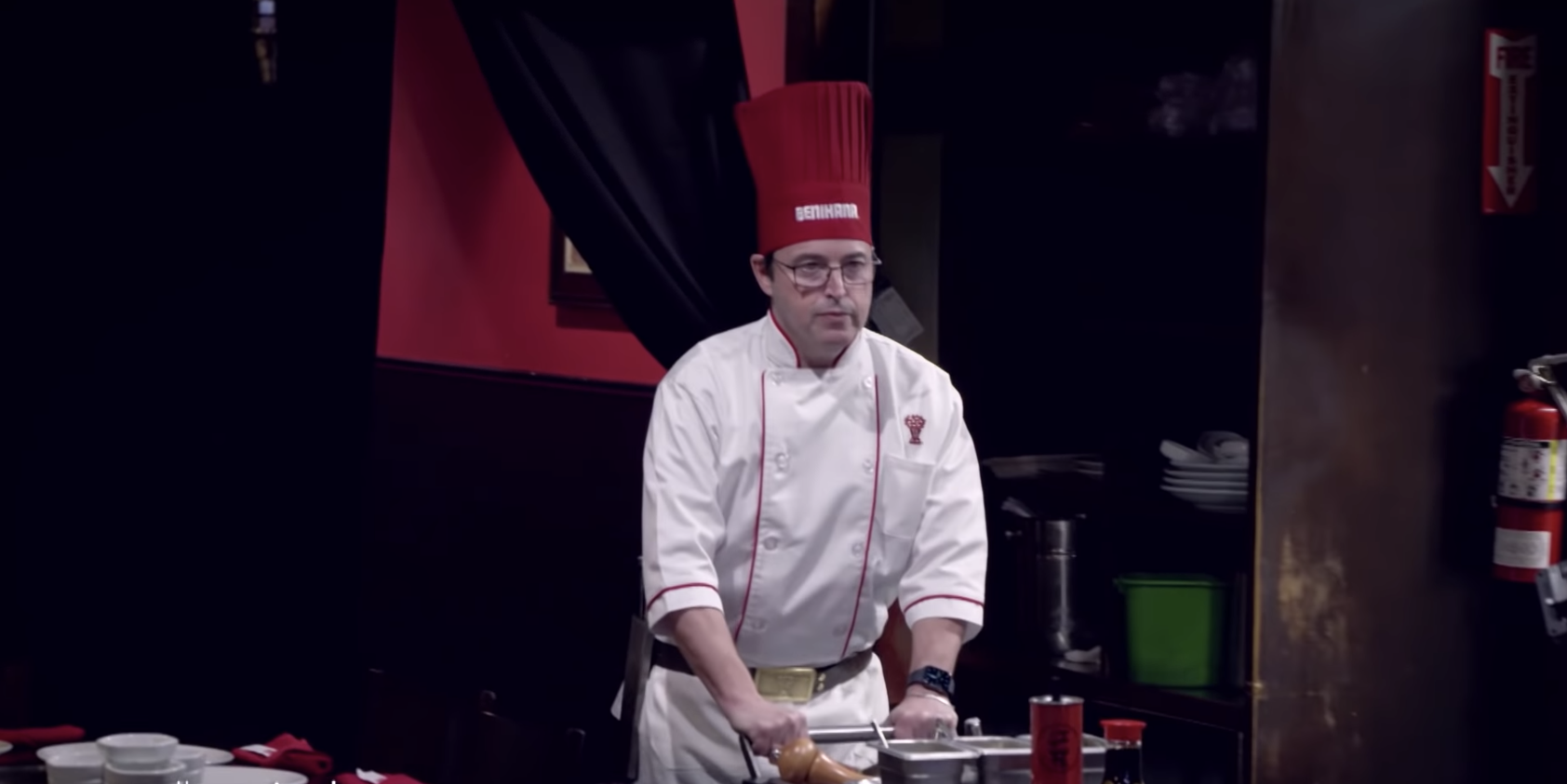 Ellen Degeneres Made Her Producer Andy Become A Hibachi Chef