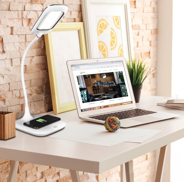 Furniture, Desk, Room, Interior design, Computer desk, Property, Table, Yellow, Home, Wall,