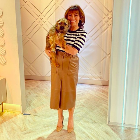 Lorraine Kelly wows in perfect leather M&S skirt