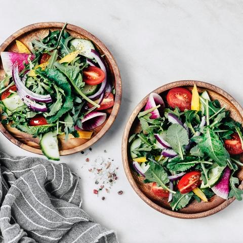Dish, Food, Cuisine, Garden salad, Salad, Ingredient, Vegetable, Panzanella, Superfood, Vegetarian food,