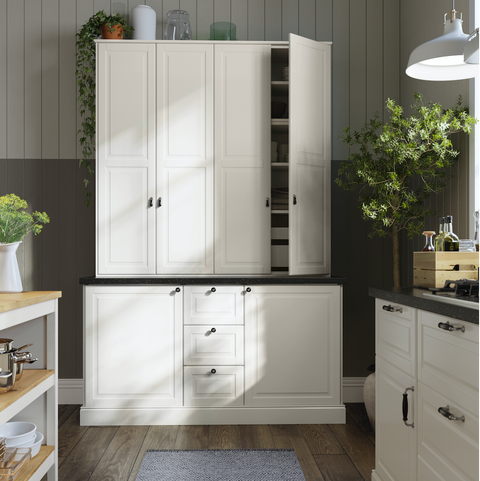 White, Cabinetry, Furniture, Room, Drawer, Cupboard, Property, Product, Kitchen, Tile,