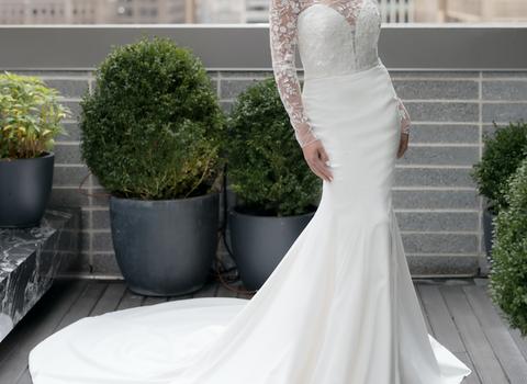 gown, wedding dress, clothing, dress, shoulder, bridal clothing, white, bride, bridal party dress, fashion model,