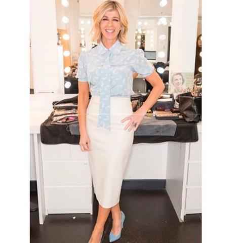 Kate Garraway fashion