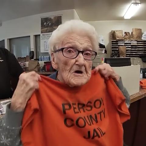 Grandparent, Glasses, T-shirt,