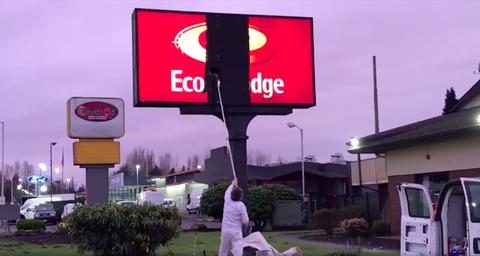 Signage, Sign, Filling station, Advertising, Display device, Electronic signage, Billboard, Street sign, Led display, Traffic sign,