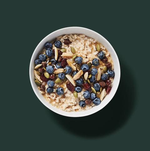 Starbucks Hearty Blueberry Oatmeal