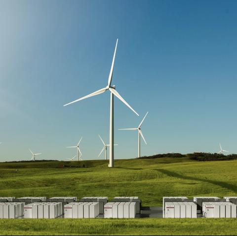 Wind turbine, Wind farm, Windmill, Grassland, Wind, Field, Sky, Nature, Natural environment, Natural landscape,