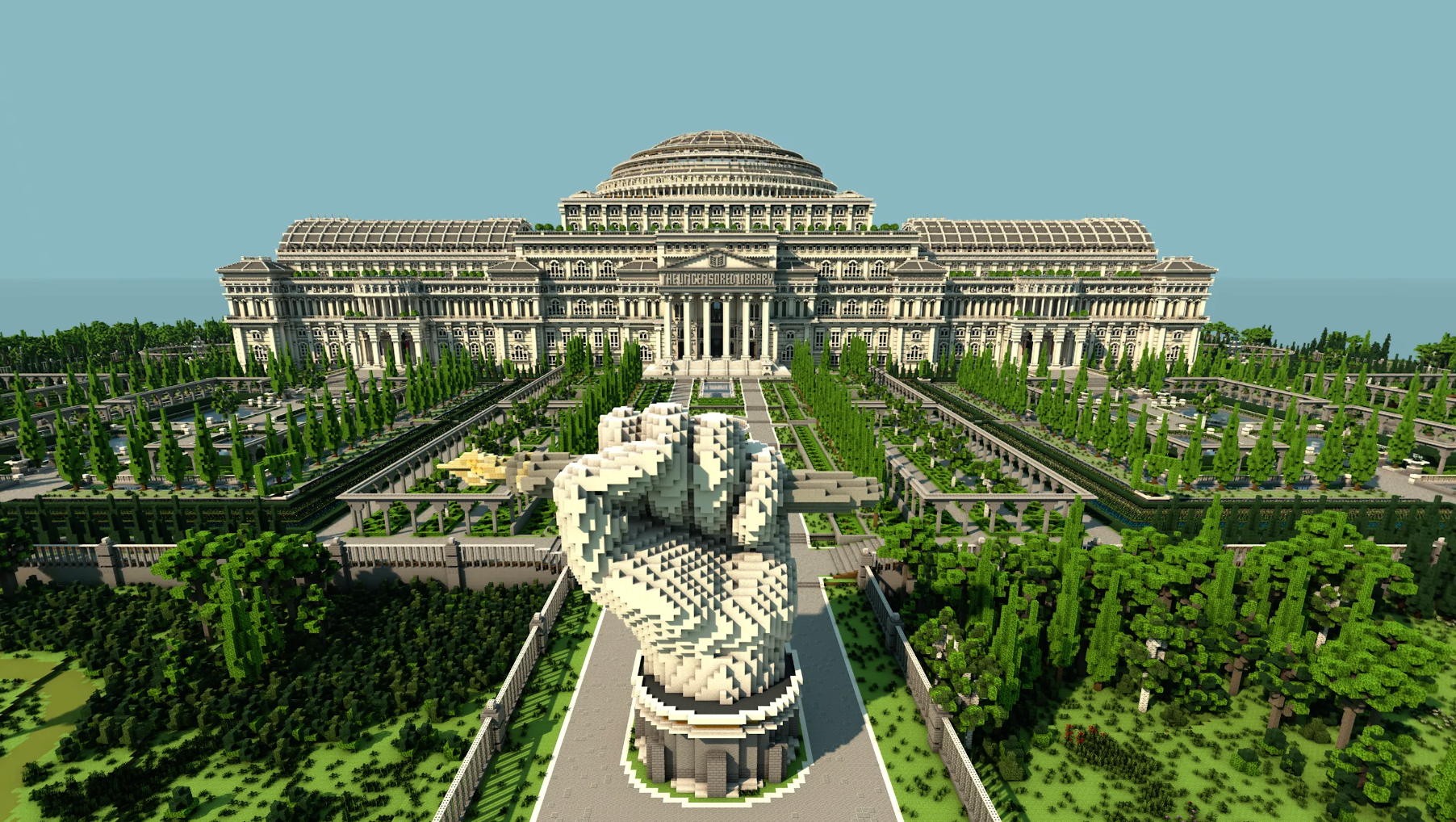 This Library Is Filled with Government-Censored Content—but You Can Only Access It in Minecraft