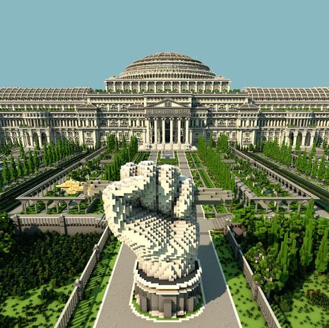 Landmark, Building, Architecture, Palace, Historic site, Official residence, City, Metropolitan area, Tourist attraction, Estate,