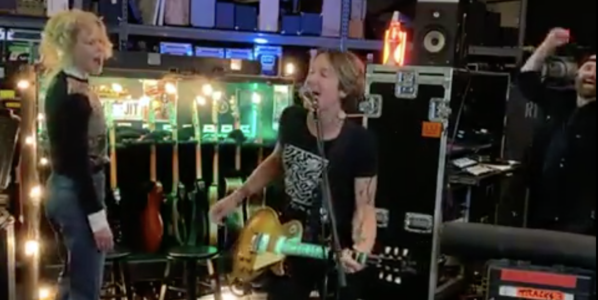 Nicole Kidman's Dancing During Keith Urban's Online Concert is Exactly What This World Needs