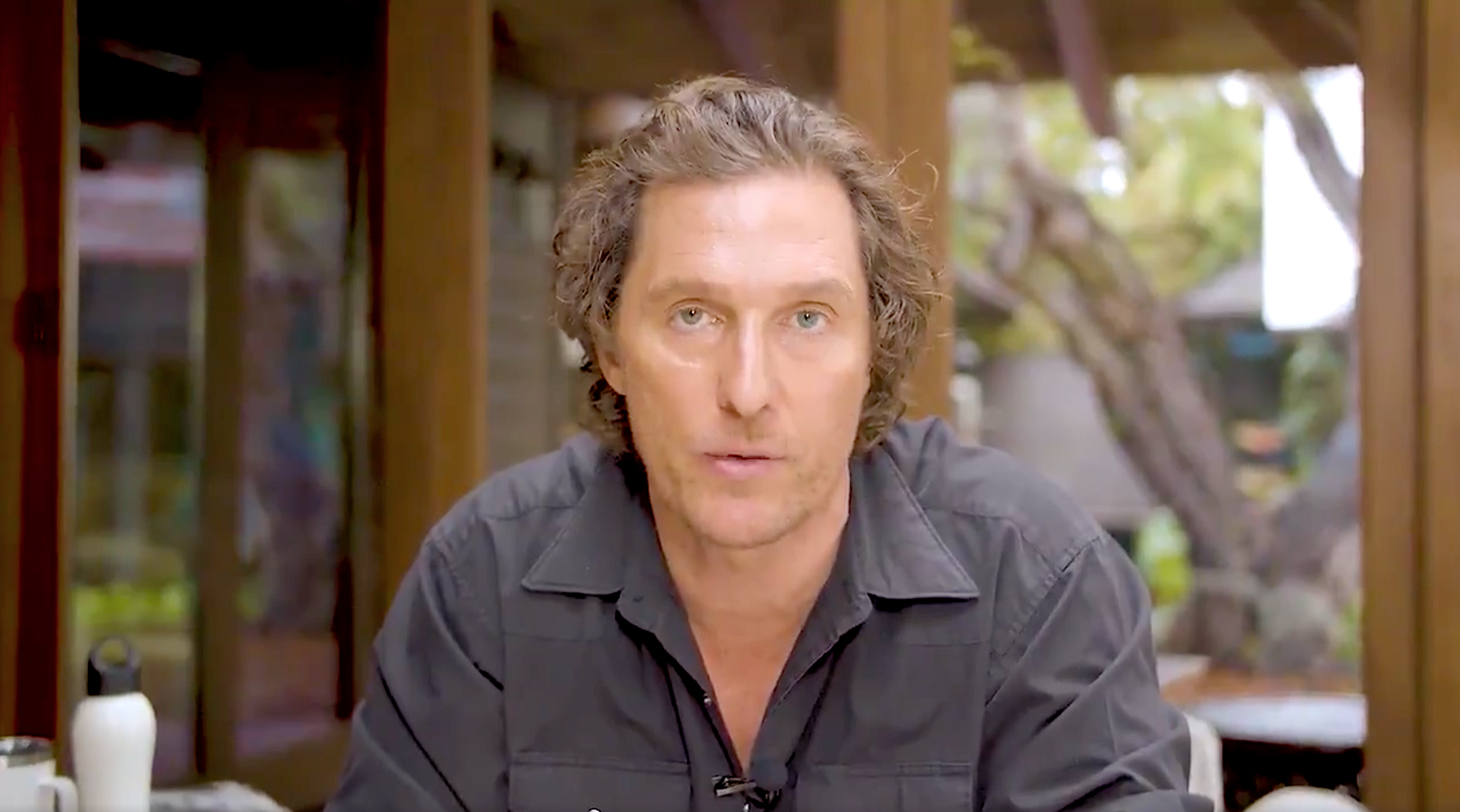 Matthew McConaughey's Video Message About Coronavirus Is a Flat Circle