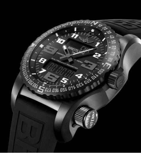 Watch, Analog watch, Watch accessory, Black, Fashion accessory, Strap, Jewellery, Brand, Titanium, Material property,