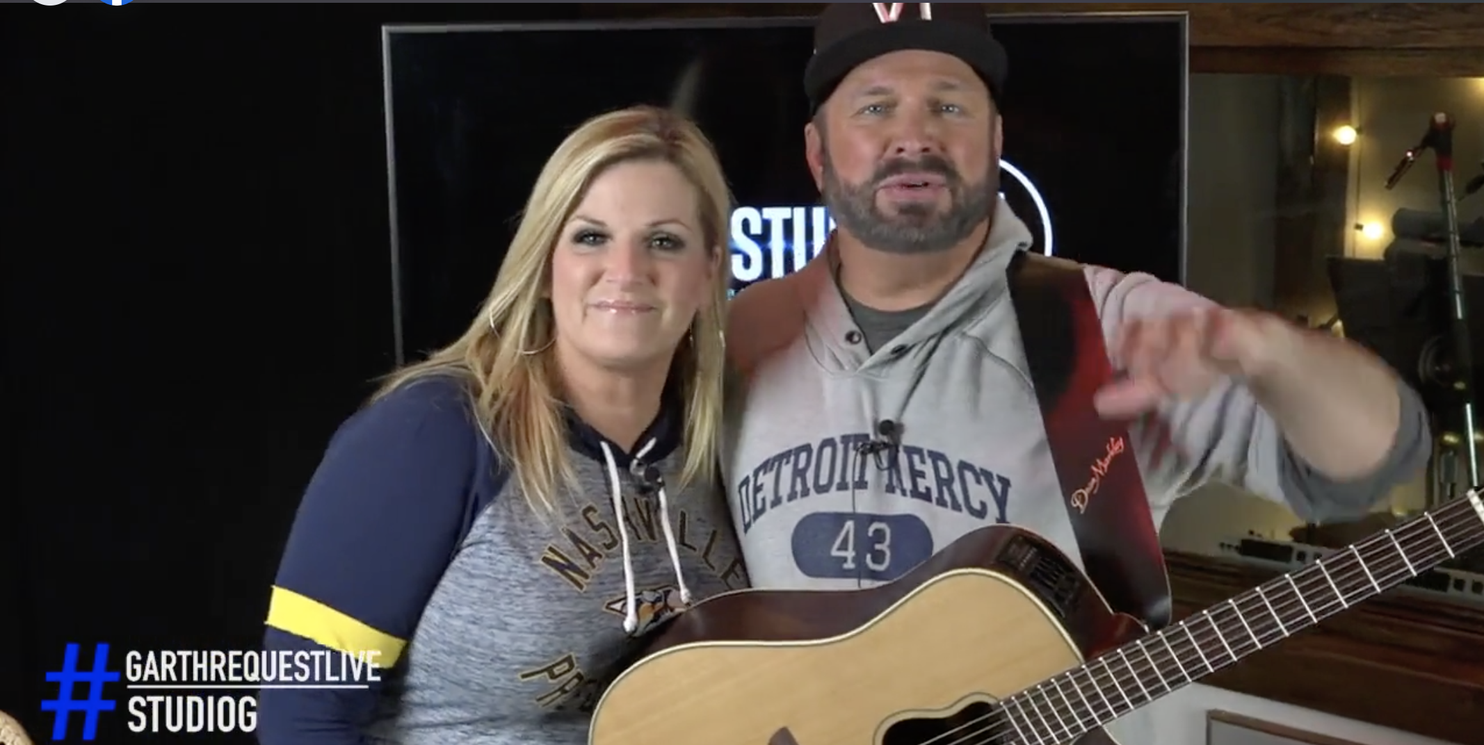 Garth Brooks's Facebook Live Concert Was Everything We Hoped For