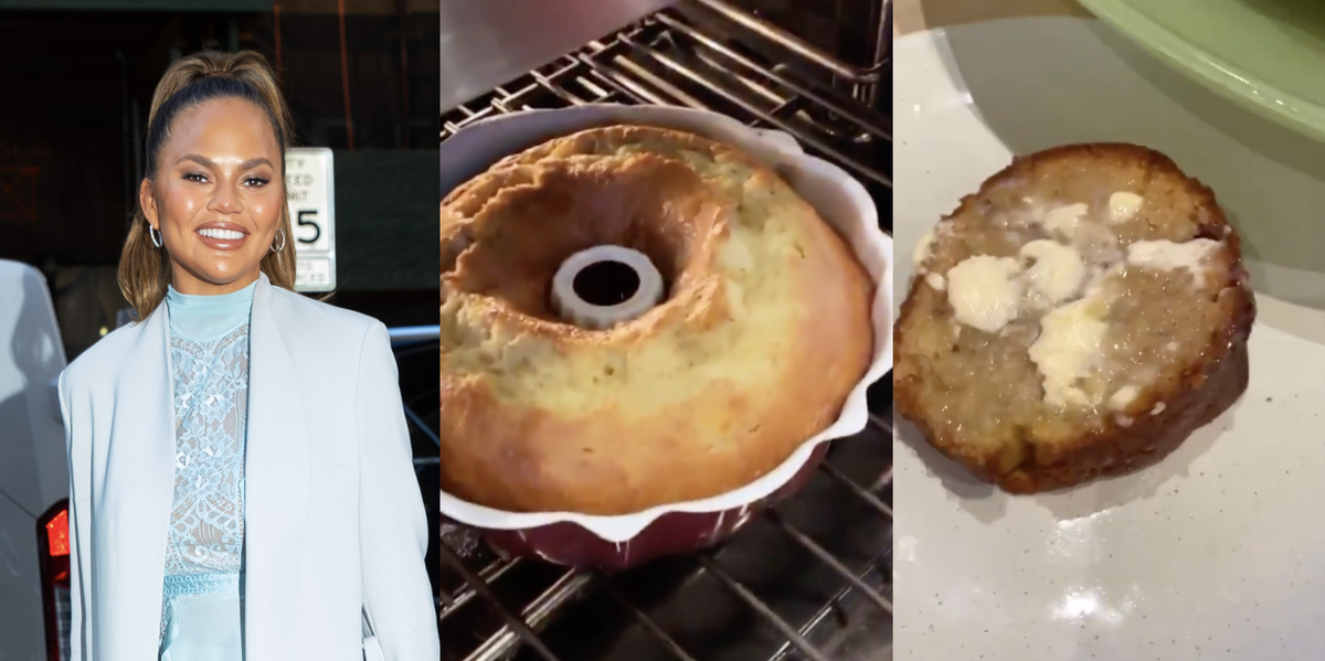 Chrissy Teigen Making Banana Bread On Twitter Is The Most Mesmerizing Thing I've Ever Seen