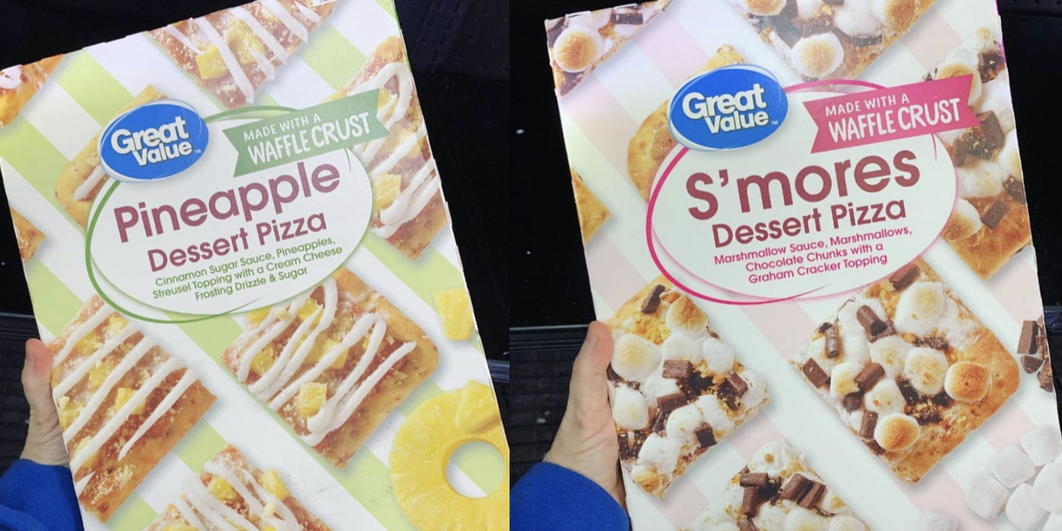 Walmart Sells Dessert Pizza In 3 Flavors