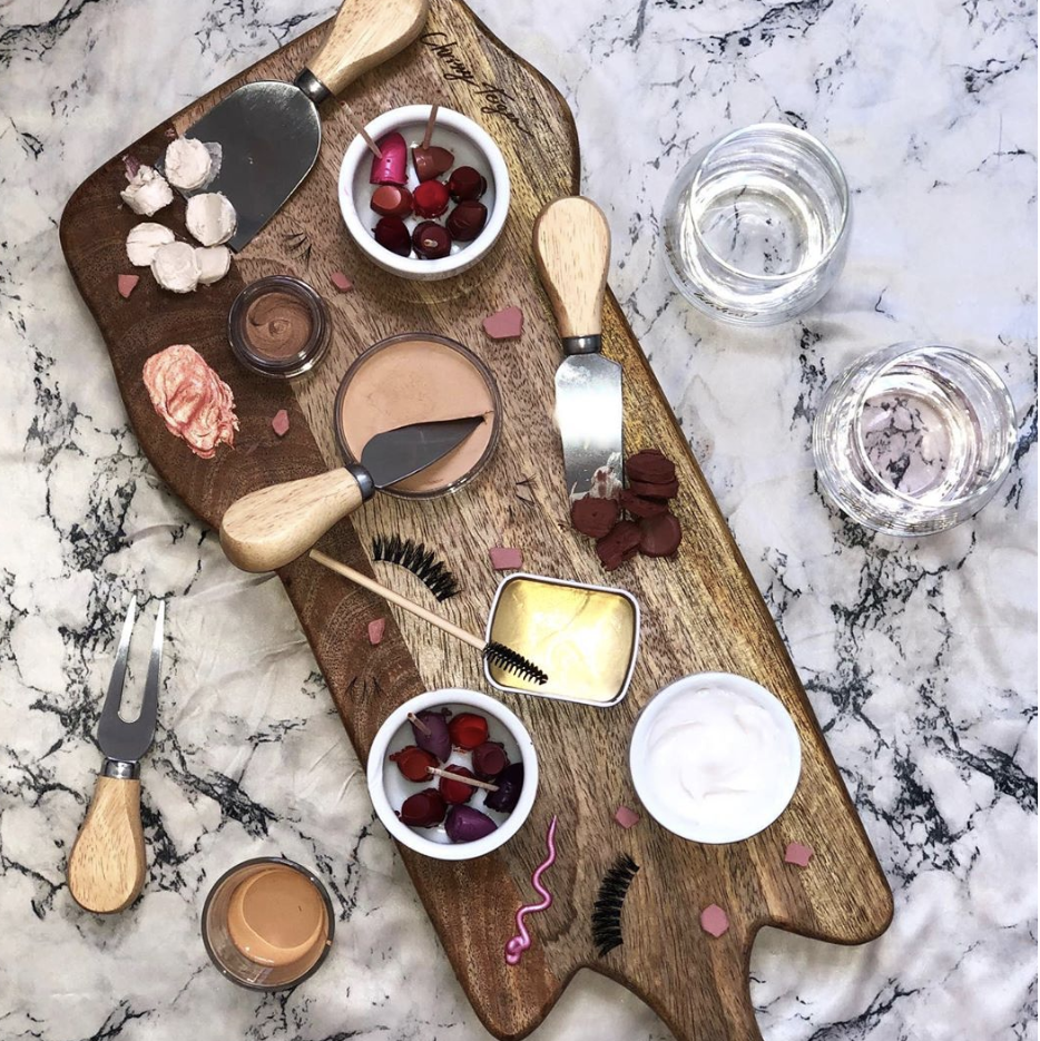 Please Put These TikTok Makeup Charcuterie Boards in a Museum