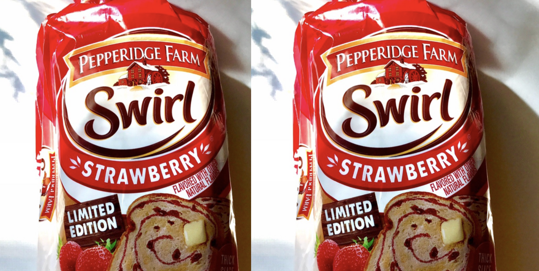 Pepperidge Farm Strawberry Swirl Bread Is Back On Shelves
