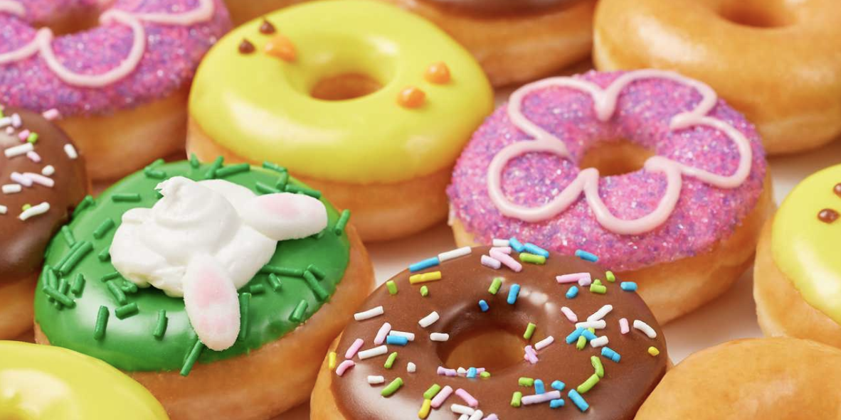 Krispy Kreme Is Selling Colorful, Spring-Themed Mini Donuts