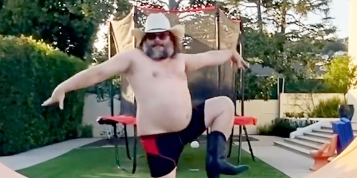Jack Black's Quarantine Dance Is The Entertainment We Need Right Now