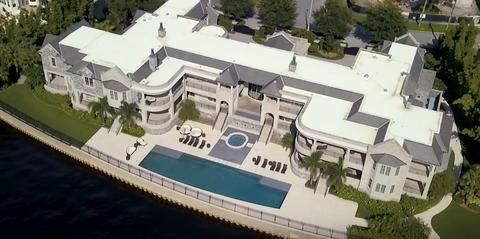 massive mansion in tampa bay